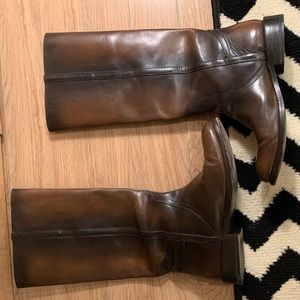 Pre-loved Tall Brown Frye boots 10